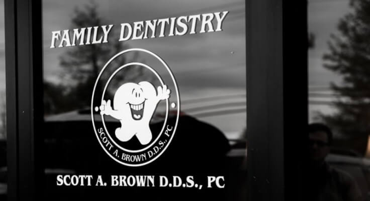 Family Dentistry Window Stamp